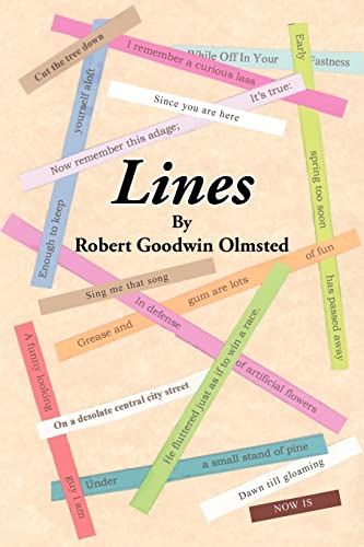 Lines: Robert Goodwin Olmsted