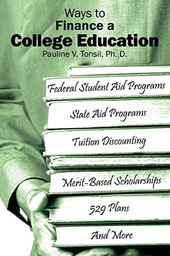 Ways to Finance a College Education Federal Student Aid Programs State Aid Programs Tuition ...