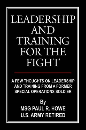 9781420889505 leadership and training for the fight a few thoughs