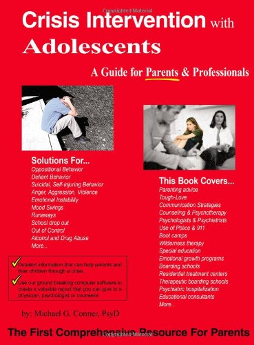 9781420892352: Crisis Intervention With Adolescents: A Guide For Parents & Professionals