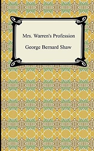 9781420928938: Mrs. Warren's Profession