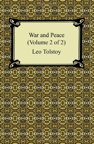 9781420932102: War and Peace (Volume 2 of 2)
