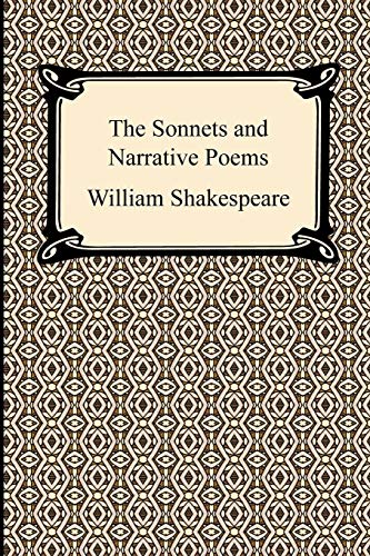 9781420932355: The Sonnets and Narrative Poems