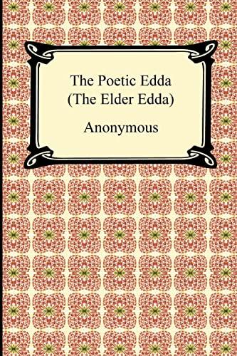 The Poetic Edda (the Elder Edda) (Paperback or Softback)