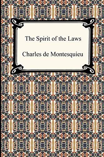9781420938302: The Spirit of the Laws