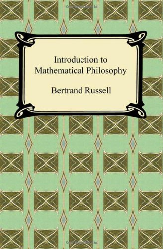 9781420938401: Introduction to Mathematical Philosophy