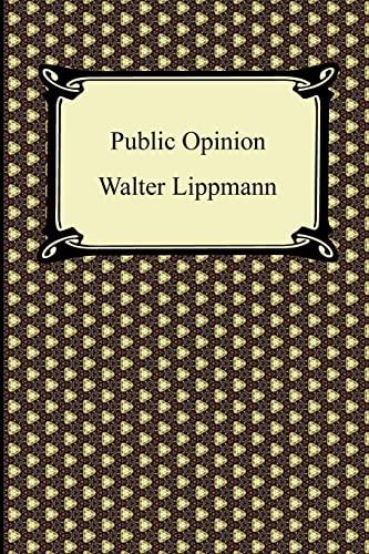 9781420942989: Public Opinion