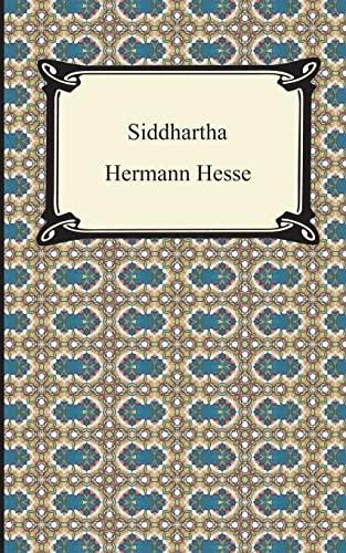Siddhartha: Hermann Hesse