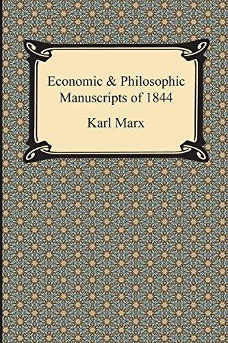 Economic Philosophic Manuscripts of 1844