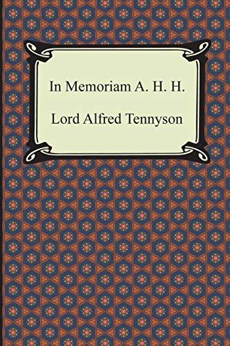 In Memoriam A. H. H. (Paperback): Lord Alfred Tennyson