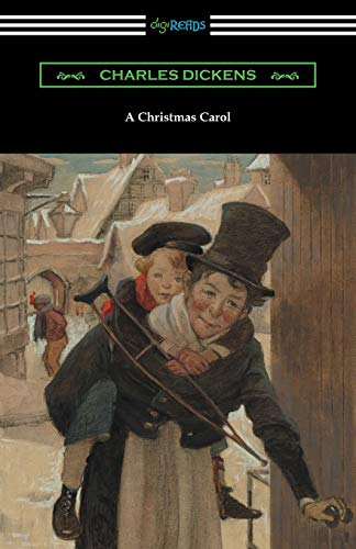 9781420952285: A Christmas Carol (Illustrated by Arthur Rackham with an Introduction by Hall Caine)