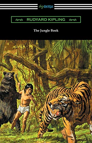 9781420954500: The Jungle Book (Illustrated by John L. Kipling, William H. Drake, and Paul Frenzeny)