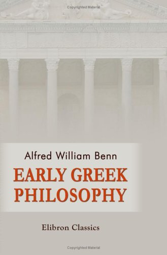 9781421204826: Early Greek Philosophy