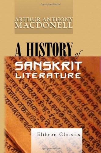 9781421217437: A History of Sanskrit Literature