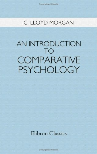 9781421227757: An Introduction to Comparative Psychology: With Diagrams
