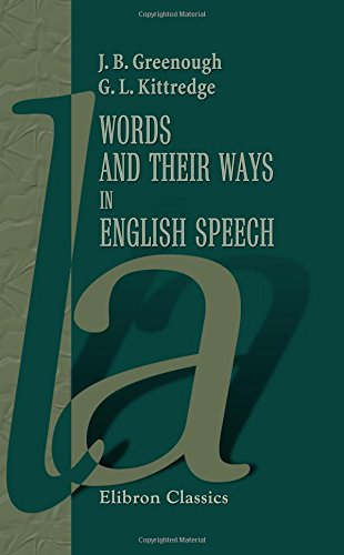 9781421235745: Words and Their Ways in English Speech