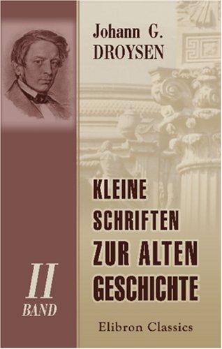 9781421244846: Kleine Schriften zur alten Geschichte: Band II