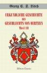 9781421246055: Urkundliche Geschichte des Geschlechts von Oertzen. Theil III. Vom Jahre 1600 bis zum Jahre 1725