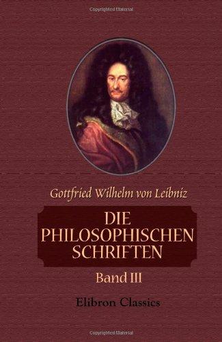 9781421247922: Die philosophischen Schriften: Band III