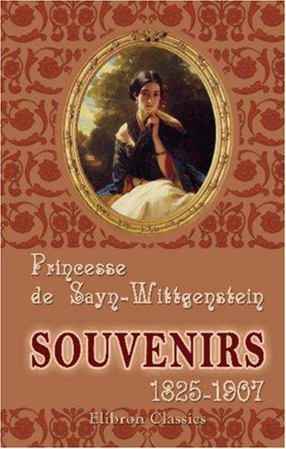 9781421259468: Souvenirs: 1825-1907