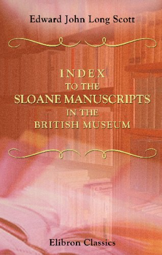9781421262574: Index to the Sloane Manuscripts in the British Museum