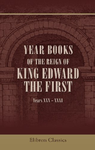 9781421263694: Year Books of the Reign of King Edward the First: Years XXX - XXXI
