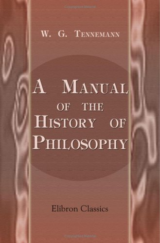 9781421271071: A Manual of the History of Philosophy