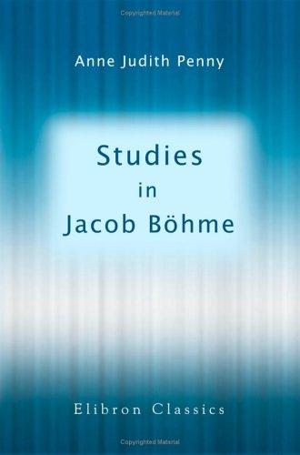 9781421272290: Studies in Jacob Böhme