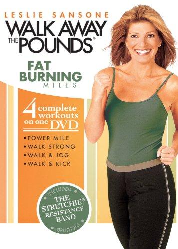 9781421328447: Leslie Sansone 4 Workouts : Walk and Jog , Walk and Kick , Walk Strong , Power Mile Plus Bonus Resistance Band Included