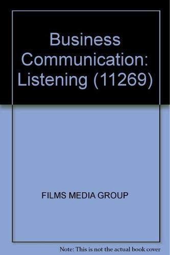 Business Communication: Listening (11269) (Audio disc): FILMS MEDIA GROUP