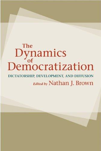 9781421400082: The Dynamics of Democratization: Dictatorship, Development, and Diffusion