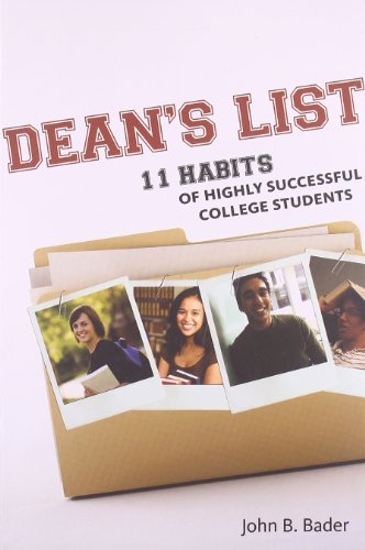 Dean's List: Eleven Habits of Highly Successful: Bader, John