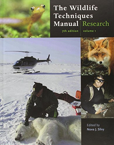 9781421401591: The Wildlife Techniques Manual: Volume 1: Research. Volume 2: Management 2-vol. set