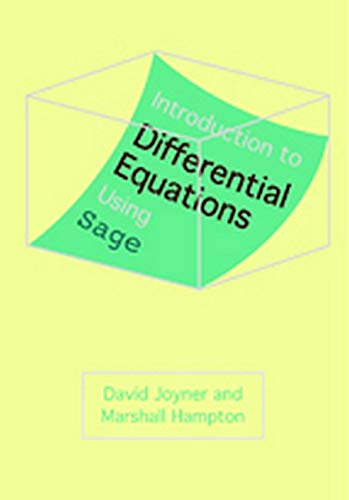 9781421406374: Introduction to Differential Equations Using Sage