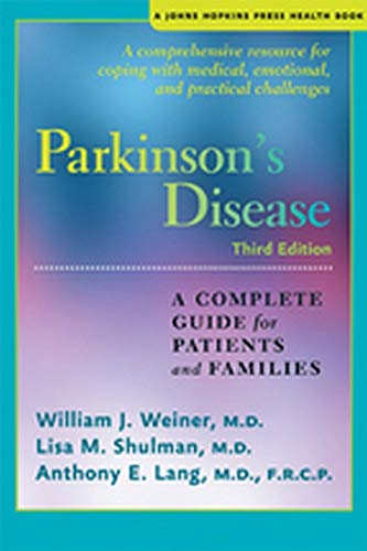 9781421410760: Parkinson's Disease: A Complete Guide for Patients and Families (A Johns Hopkins Press Health Book)