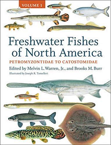 9781421412016: Freshwater Fishes of North America: Volume 1: Petromyzontidae to Catostomidae