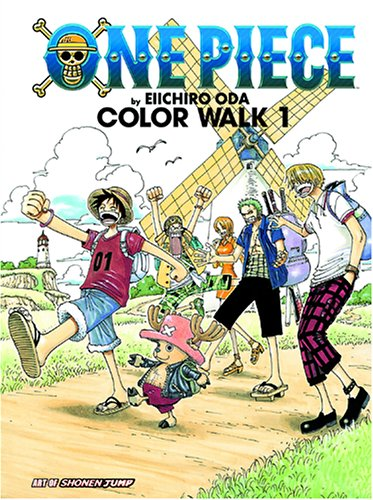 One Piece Color Walk Art Book, Vol. 1 (The Art of Shonen Jump) (9781421501598) by Eiichiro Oda