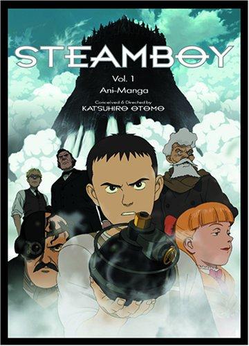 9781421502007: 1: Steamboy: Ani-Manga