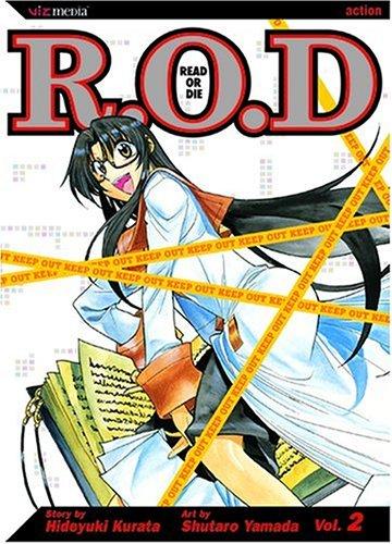 9781421502571: Read or Die, Vol. 2 (R.O.D.: Read or Die)
