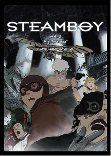 Steamboy Ani-Manga, Volume 2 (1421504944) by Katsuhiro Otomo