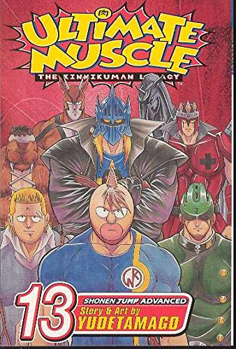 9781421506814: ULTIMATE MUSCLE GN VOL 13 (C: 1-0-0) (Ultimate Muscle: The Kinnikuman Legacy)