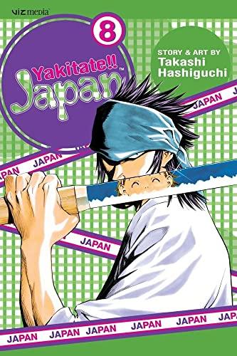 Yakitate!! Japan, Vol. 8: Takashi Hashiguchi