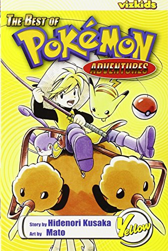 9781421509297: The Best of Pokemon Adventures: Yellow
