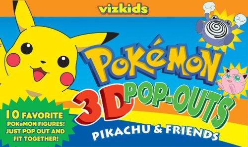 9781421510026: Pokémon: Pokemon 3D Pop Outs: Pikachu & Friends
