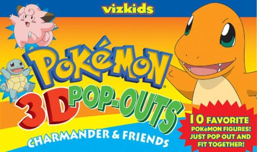 9781421511320: Pokémon: Pokemon 3D Pop Outs: Togepi & Friends: Charmander & Friends