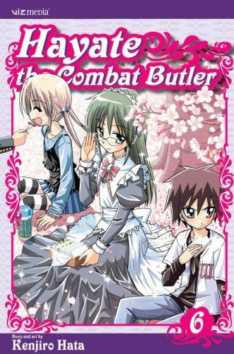 Hayate The Combat Butler, Volume 6: Hata, Kenjiro