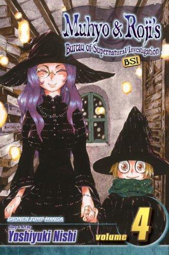 9781421516394: Muhyo & Roji's Bureau of Supernatural Investigation, Vol. 4