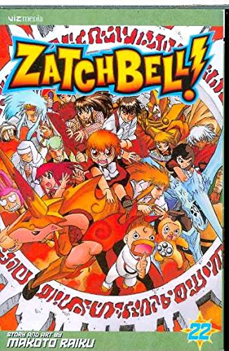 9781421517155: ZATCH BELL GN VOL 22 (C: 1-0-0) (Zatch Bell (Graphic Novels))