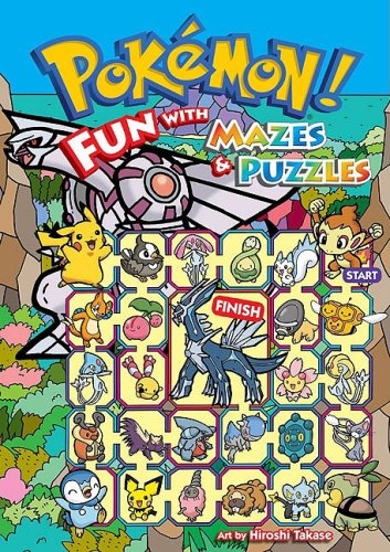 9781421523125: Pokémon: Fun With Mazes & Puzzles