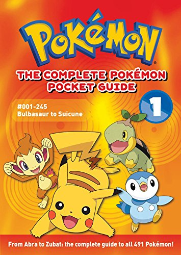 9781421523255: The Complete Pokemon Pocket Guide: Vol. 1